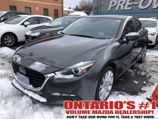 Used 2017 Mazda MAZDA3 NAV,SUNROOF,BACKUP CAM !!! for sale in Toronto, ON