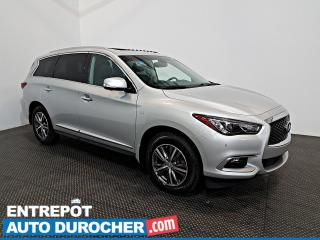 Used 2016 Infiniti QX60 AWD  NAVIGATION -Toit Ouvrant - A/C - 7 Passagers for sale in Laval, QC
