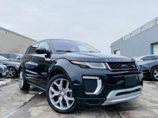 Used 2016 Land Rover Evoque |AUTOBIOGRAPHY|SELF PARKING|COOLING , HEATED & MASSAGE SEATS for sale in Brampton, ON