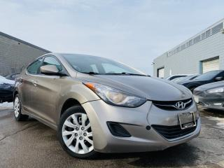 Used 2012 Hyundai Elantra 4 Cylinder AUTOMATIC Loaded LOW Km's for sale in Brampton, ON