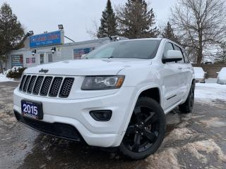 Used 2015 Jeep Grand Cherokee 4WD 4dr Laredo  ONE OWNER  ACCIDENT FREE NAVI & 360 CAM  for sale in Brampton, ON