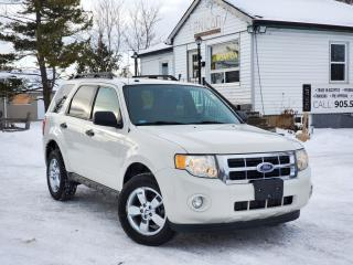 Used 2011 Ford Escape No Accidents XLT Sunroof Heated Power Leather Bluetooth for sale in Sutton, ON