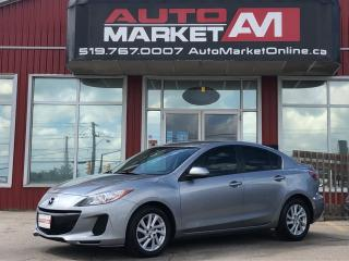 Used 2012 Mazda MAZDA3 CERTIFIED i Sport. ALLOYS. WE APPROVE ALL CREDIT for sale in Guelph, ON