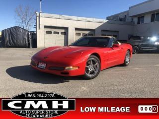 Used 2004 Chevrolet Corvette 350-HP MANUAL HUD BOSE MEM-PKG (REBUILT) for sale in St. Catharines, ON