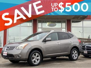 Used 2010 Nissan Rogue CERTIFIED,AWD,Sunroof ,WE APPROVE ALL CREDIT for sale in Guelph, ON