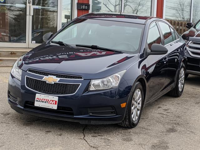 2011 Chevrolet Cruze CERTIFIED,Cruise Control, WE APPROVE ALL CREDIT