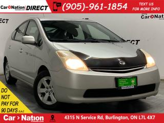 Used 2005 Toyota Prius | AS-TRADED| ONE PRICE INTEGRITY| for sale in Burlington, ON