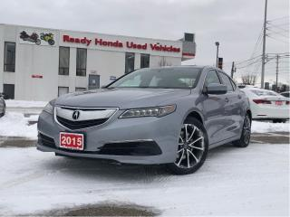 Used 2015 Acura TLX AWD V6 - Leather - Sunroof -  Rear Camera for sale in Mississauga, ON