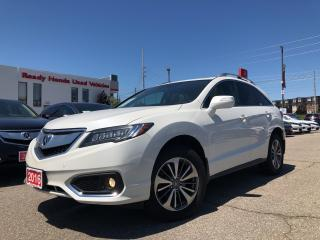 Used 2016 Acura RDX Elite Pkg - Navigation - Leather - NEW TIRES for sale in Mississauga, ON