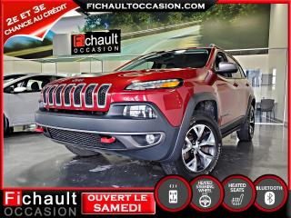 Used 2015 Jeep Cherokee Trailhawk V6*** ROUES D HIVER INCLUS*** for sale in Châteauguay, QC