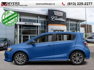 Used 2017 Chevrolet Sonic LT  LT, RS, SUNROOF, REMOTE START, AUTO for sale in Ottawa, ON