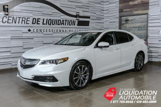 Used 2017 Acura TLX TEHC+V6+AERO KIT+TOIT+GPS+CUIR+AWD+BLUETOOTH for sale in Laval, QC