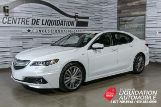 Used 2016 Acura TLX ELITE+V6+AWD+LUNCH KIT AERO+GPS for sale in Laval, QC