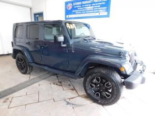 Used 2018 Jeep Wrangler JK Unlimited Sahara LEATHER NAVI for sale in Listowel, ON