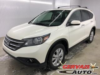 Used 2014 Honda CR-V Touring AWD GPS Cuir Toit Ouvrant MAGS Caméra *Le plus équipé des Cr-v* for sale in Shawinigan, QC