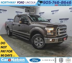 Used 2017 Ford F-150 XLT | 301A | MAX TOW | TONNEAU COVER | LONG BOX | for sale in Brantford, ON