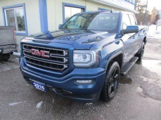 Used 2016 GMC Sierra 1500 WORK READY ELEVATION EDITION 6 PASSENGER 5.3L - V8.. 4X4.. QUAD-CAB.. SHORTY.. BACK-UP CAMERA.. BLUETOOTH SYSTEM.. TRAILER BRAKE.. for sale in Bradford, ON