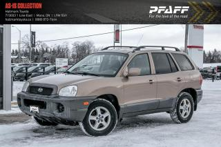 Used 2004 Hyundai Santa Fe GL V6 FWD for sale in Orangeville, ON