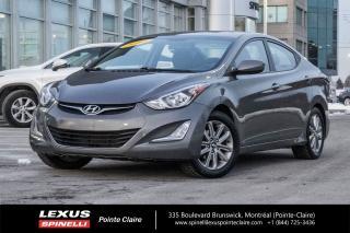 Used 2014 Hyundai Elantra GLS **GROUPE ELECTRIQUE**SIEGES CHAUFFANT**BLUETOOTH**TOIT OUVRANT**CAMERA DE RECULE** for sale in Montréal, QC