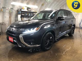 Used 2019 Mitsubishi Outlander Black Edition * 4WD * 7 Passenger * Blind spot assist * Power sunroof * Semi Leather interior * Black alloy rims * Roof rails * for sale in Cambridge, ON