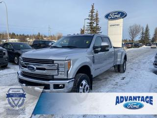 Used 2018 Ford F-350 Lariat Dually -Clean Carfax - Quad beam Headlamps for sale in Calgary, AB