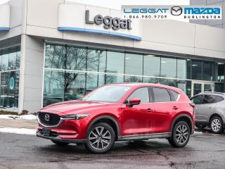 Used 2017 Mazda CX-5 GT- LEATHER, MOONROOF, BOSE, BLUETOOTH, REAR CAMERA for sale in Burlington, ON