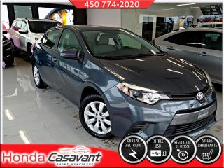 Used 2015 Toyota Corolla LE, automatique for sale in St-Hyacinthe, QC