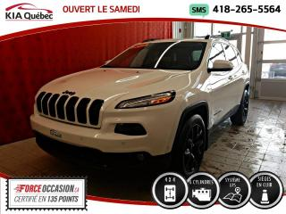 Used 2016 Jeep Cherokee LIMITED* V6* 4X4* GPS* CUIR* VOLANT CHAU for sale in Québec, QC