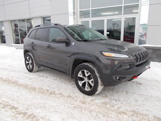 Used 2016 Jeep Cherokee Trailhawk 4X4 for sale in Rivière-Du-Loup, QC
