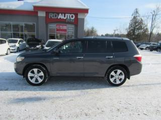 Used 2009 Toyota Highlander V6 Limited+7 PASS for sale in Notre-Dame-Des-Prairies, QC