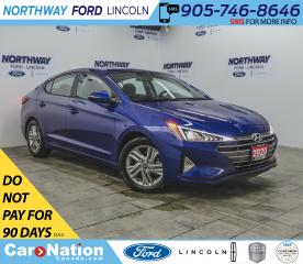 Used 2020 Hyundai Elantra Preferred | HTD SEATS+WHEEL | BACKUP CAM | USB+AUX for sale in Brantford, ON