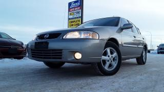 Used 2003 Nissan Sentra XE for sale in Brandon, MB