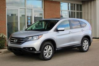 Used 2014 Honda CR-V EX - AWD - REVERSE CAM - HEATED SEATS - MOONROOF for sale in Saskatoon, SK
