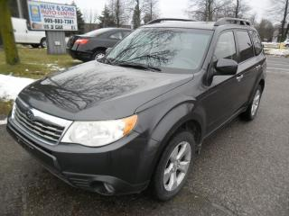 "Used 2010 Subaru Forester 4X4 ""Gas MISER"" ***certified + FREE 6M warranty*** for sale in Ajax, ON"