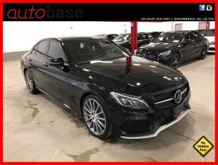 Used 2017 Mercedes-Benz C-Class C43 AMG 4MATIC DISTRONIC AMG DRIVER PREMIUM 360 LED for sale in Vaughan, ON