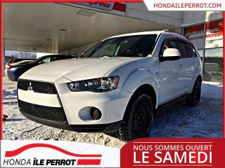 Used 2012 Mitsubishi Outlander ES JAMAIS ACCIDENTÉE, 8 PNEUS for sale in Île-Perrot, QC