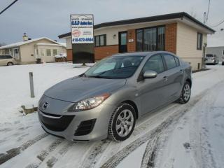 Used 2010 Mazda MAZDA3 for sale in Ancienne Lorette, QC