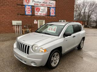 Used 2008 Jeep Compass 4X4/2.4L/REDUCED/SAFETY INCLUDED/ONE OWNER for sale in Cambridge, ON
