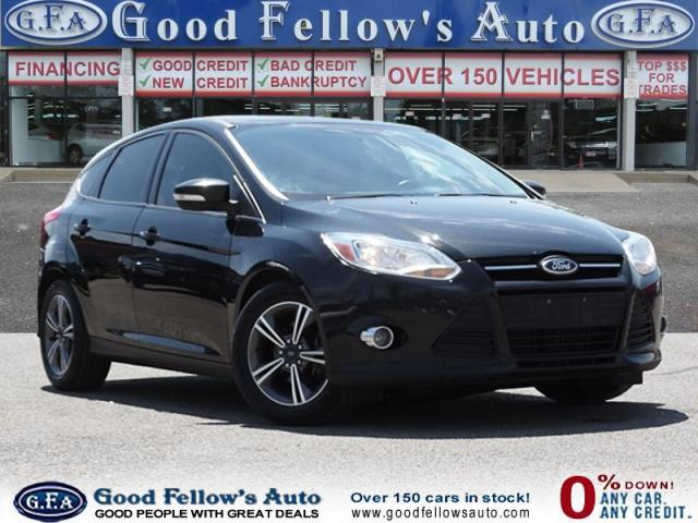 2014 Ford Focus SE MODEL, HATCHBACK, 2.0 LITER, HEATED SEATS