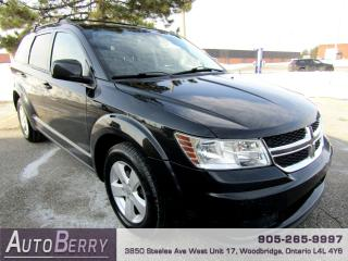 Used 2012 Dodge Journey Canada Value Package - 2.4L for sale in Woodbridge, ON