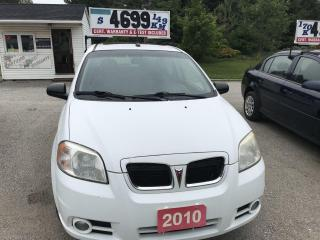 Used 2010 Pontiac G3 SE for sale in Oro Medonte, ON