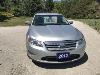 Used 2012 Ford Taurus SEL for sale in Oro Medonte, ON