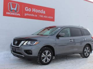 Used 2017 Nissan Pathfinder SL AWD LEATHER 7-PASS for sale in Edmonton, AB