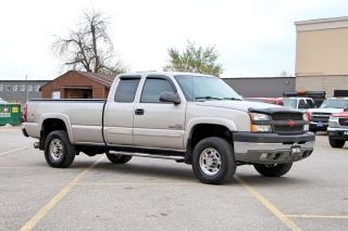 Used 2004 Chevrolet Silverado 2500 8FT 4X4 for sale in Brampton, ON