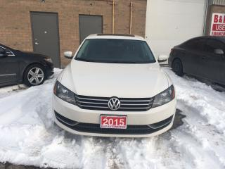 Used 2015 Volkswagen Passat Hghline for sale in Brampton, ON