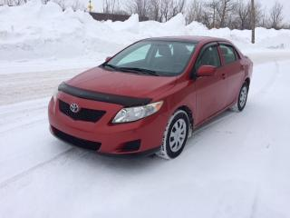 Used 2009 Toyota Corolla Berline 4 portes, boîte manuelle, CE for sale in Quebec, QC