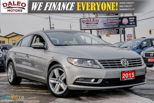 2015 Volkswagen Passat CC Sportline / BACK-UP CAM / HEATED SEATS / BLUETOOTH