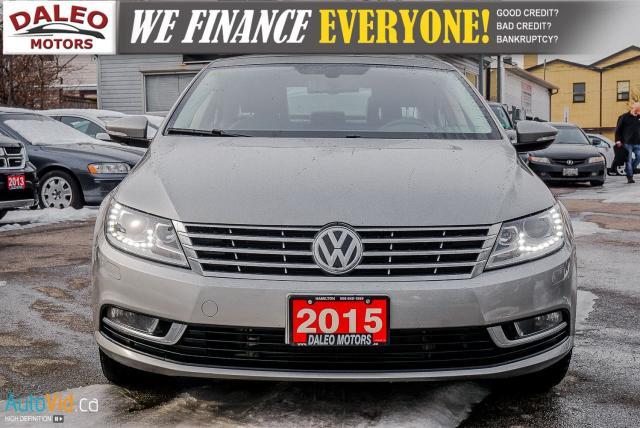 2015 Volkswagen Passat CC Sportline / BACK-UP CAM / HEATED SEATS / BLUETOOTH Photo3