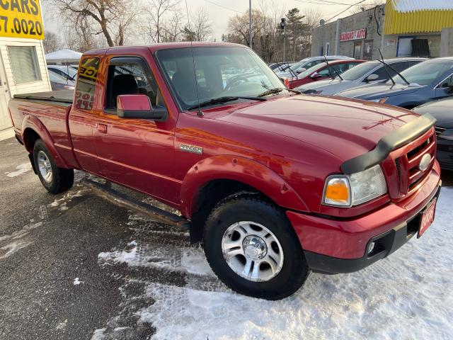 2006 Ford Ranger SPORT/ EXT CAB/ AUTO/ FOG LIGHTS/ TONNEAU COVER ++