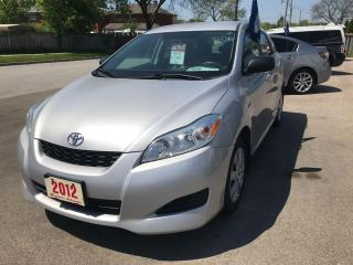 Used 2012 Toyota Matrix for sale in Etobicoke, ON